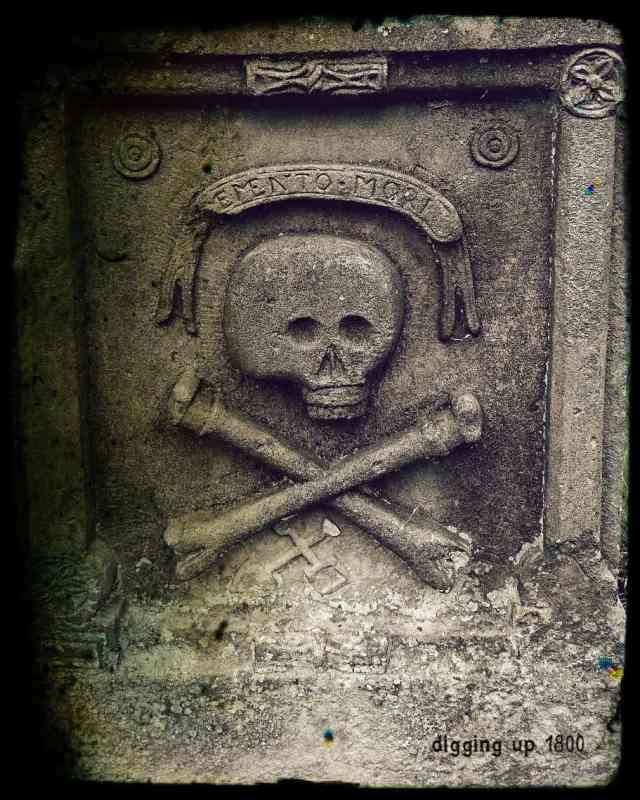Memento Mori St Andrews Church West Linton Scotland