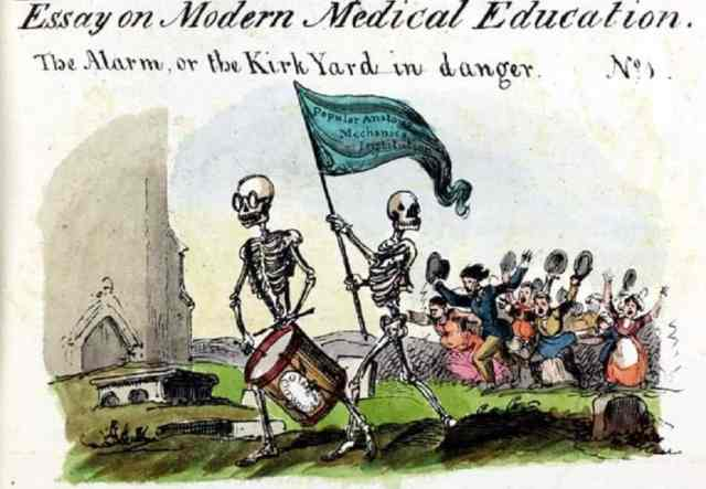 Essay on Modern Medical Education, No. 1 The Alarm or The Kirk Yard in Danger From vol 1 no 6 Northern Looking Glass 18 August 1825