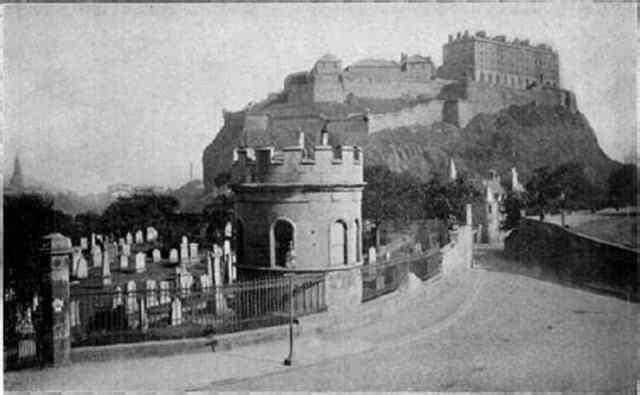 St Cuthbert's watchtower, Edinburgh  source unknown
