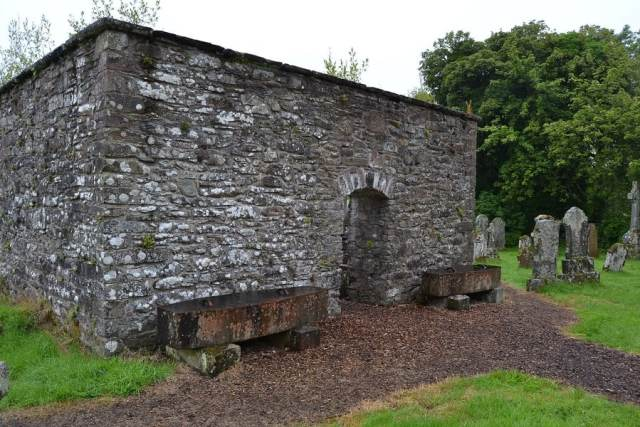 Mortsafes at Aberfoyle Stirlingshire