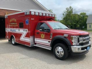 Ambulance 1: 2019 Braun/Ford F-450, Four Wheel Drive