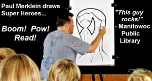 Paul Merklein draws spiderman