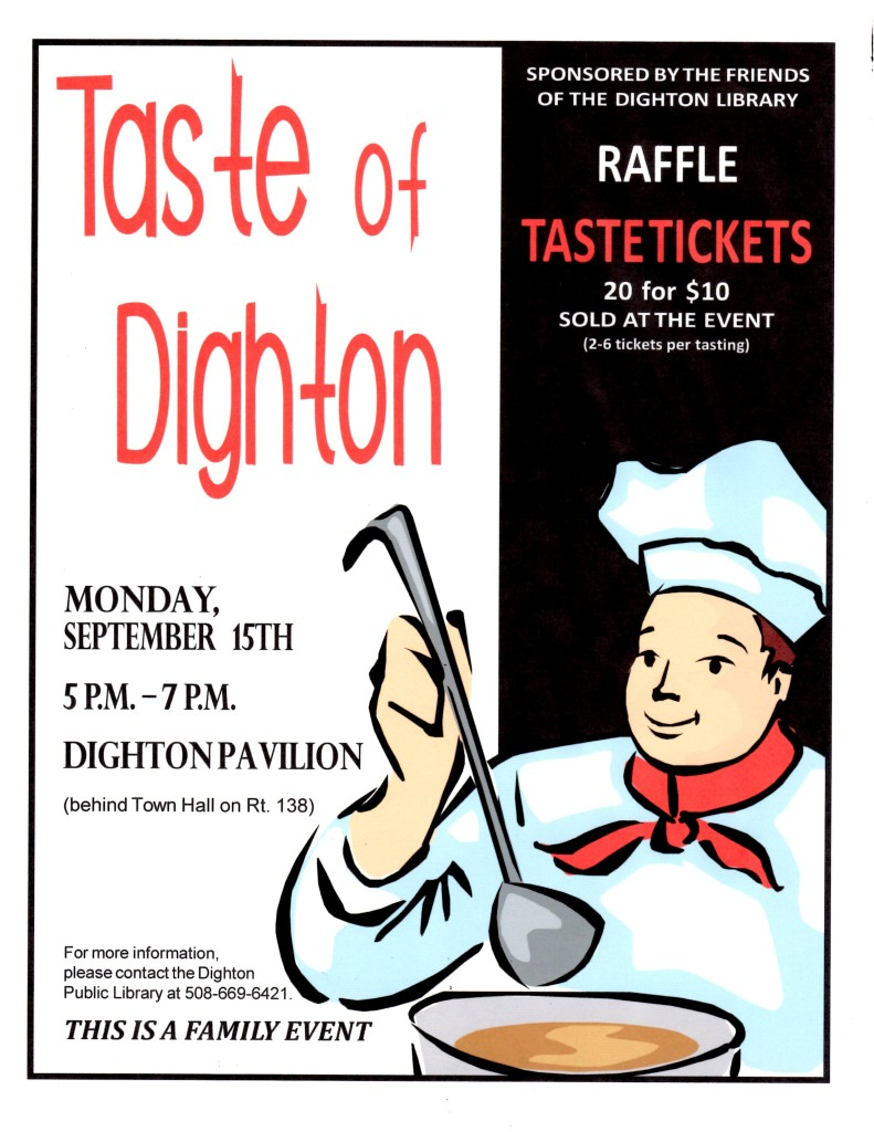 Taste of Dighton Flyer