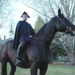 Paul Rever on horse
