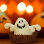 Pumpkin and ghost treats