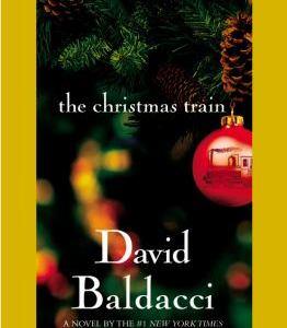 christmas train book cover