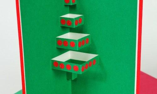 Ashbee design pop-up card