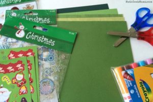 Christmas card supplies