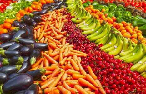 mindful and intuitive eating - healthy food