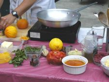 holiday hors d'oeuvres cooking demonstration,
