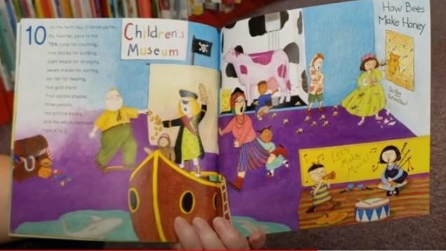 Inside The Twelve Days of Kindergarten