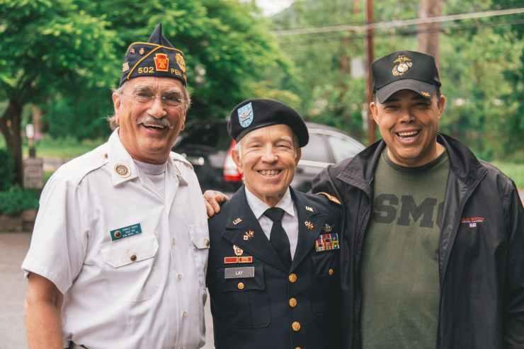 group of veterans
