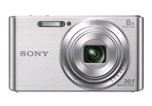 SonyDSCW83020.1MPDigitalCamerawith2.7-InchLCD-Silver-1-1