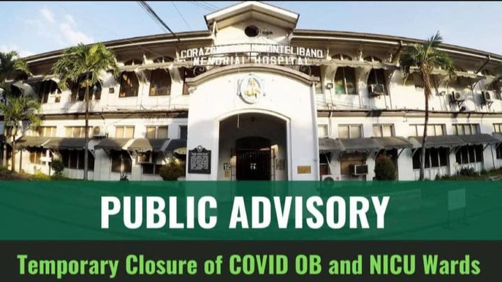 CLMMRH closes 2 Covid areas for infra repairs