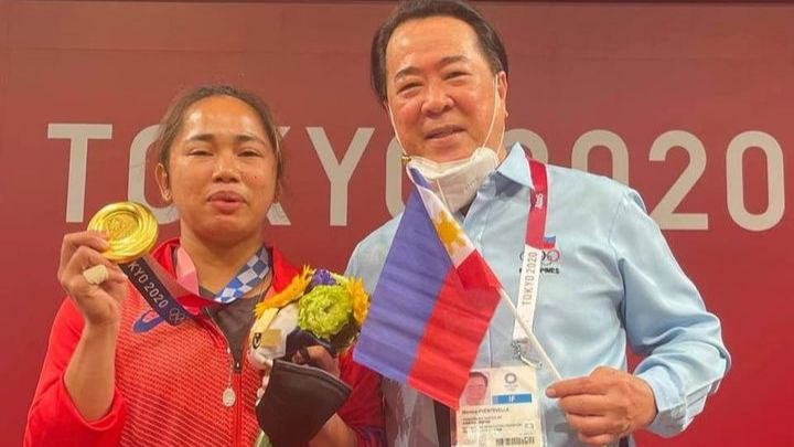 'Hidilyn's win proves Filipinos can rise above worst of times'