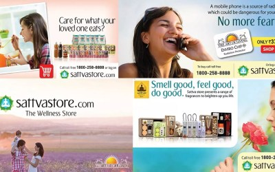 250% Growth In Social Media Engagement | Sattva Store, The official Art of Living Shop
