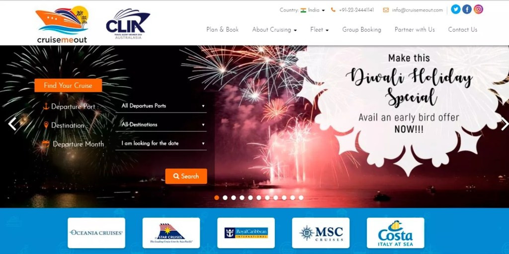 Cruise bookings for CruiseMeOut using paid advertising – CruiseMeOut