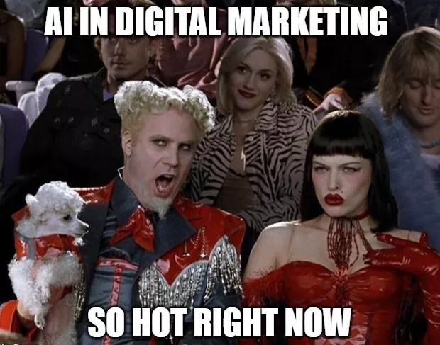 AI Digital Marketing Meme