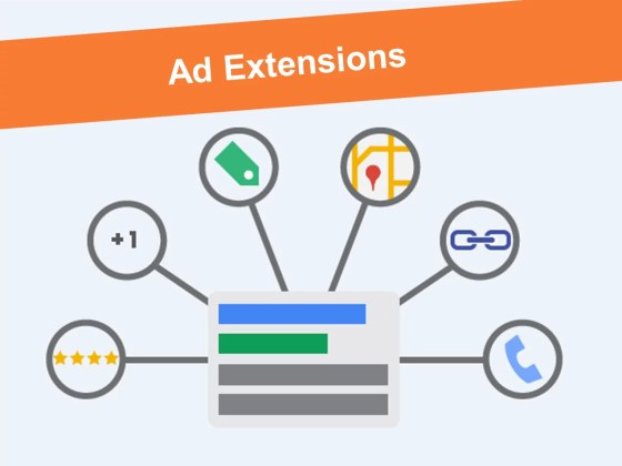 Google ad extention