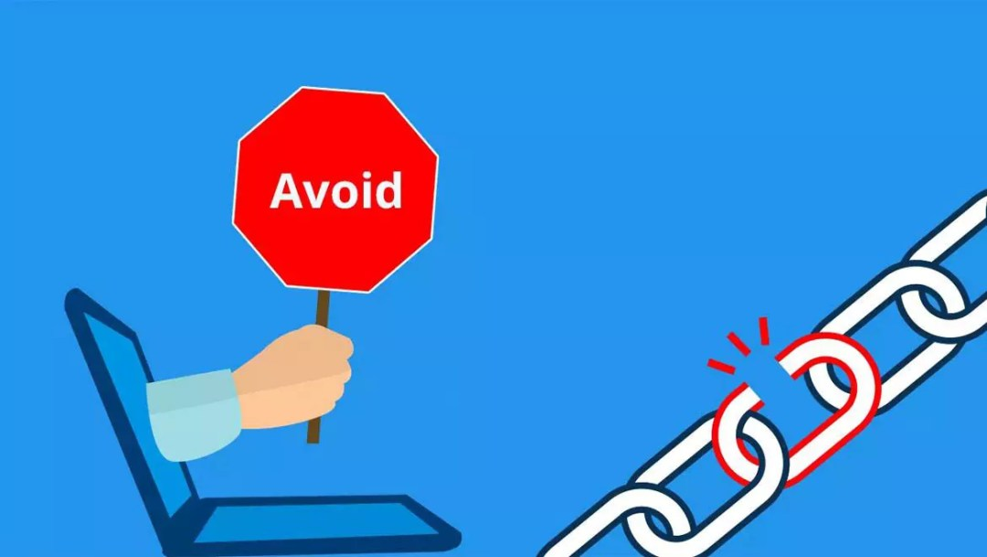 Avoid posting links on linkedIn