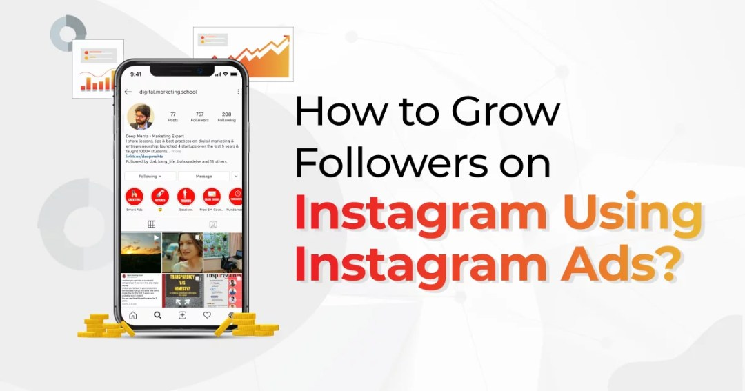 How To Grow Followers On Instagram Using Instagram Ads?