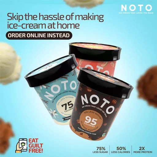 Achieved 4X ROAS for a Newly Launched Ice Cream Brand in Mumbai | Noto Ice Creams