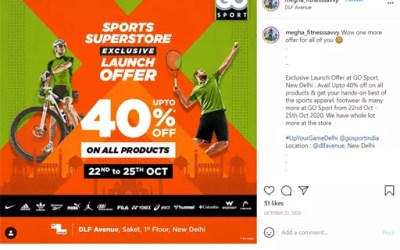 #UpYourGame Influencer Marketing Campaign | Go Sport India
