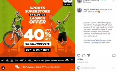 #UpYourGame Influencer Marketing Campaign | Go Sport India