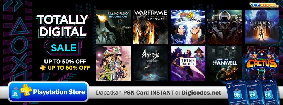 Totally Digital Sale Up To 60 Off Di PlayStation Store US 07 Agustus 2018