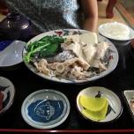 魚のアラ マース煮定食 1200円(時価)