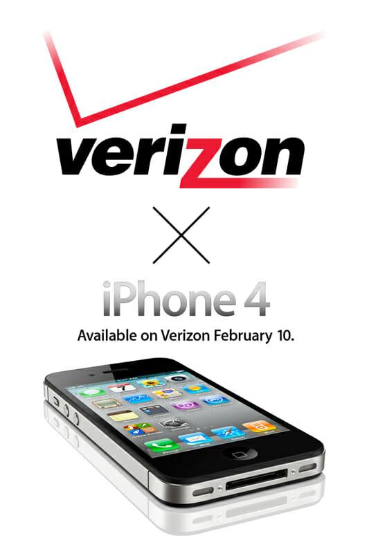 Verizon向けiPhone 4