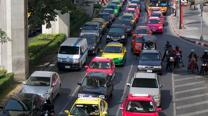 タイの自動車事情