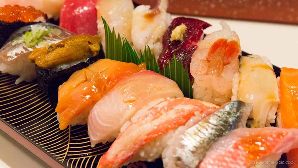 かねとも寿しの最特上寿司