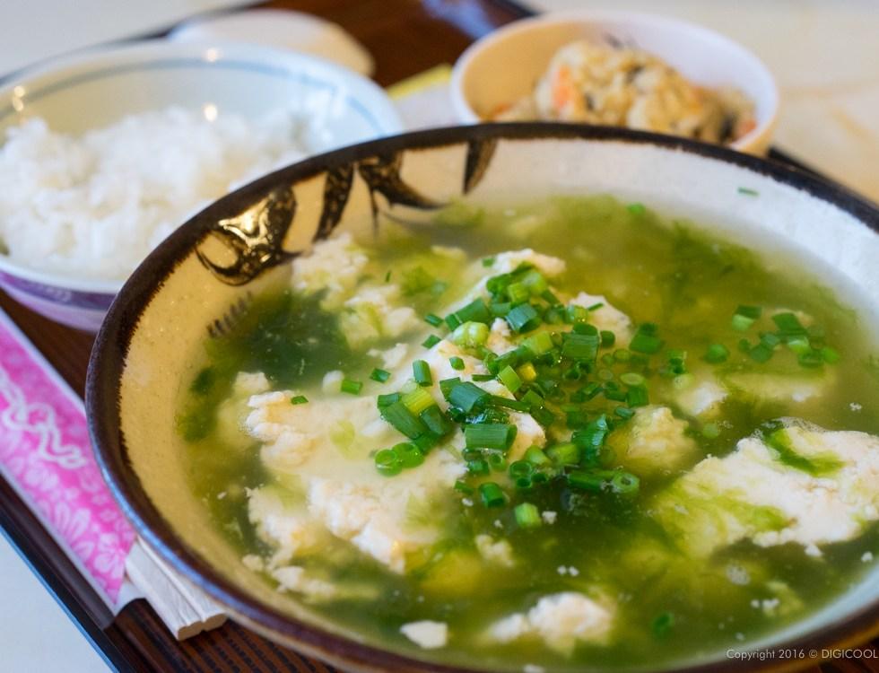 ゆし豆腐(塩)アーサ入り