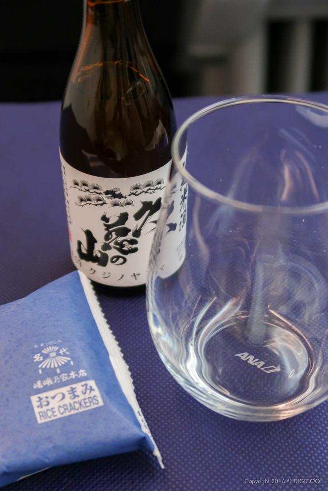 まずは日本酒を