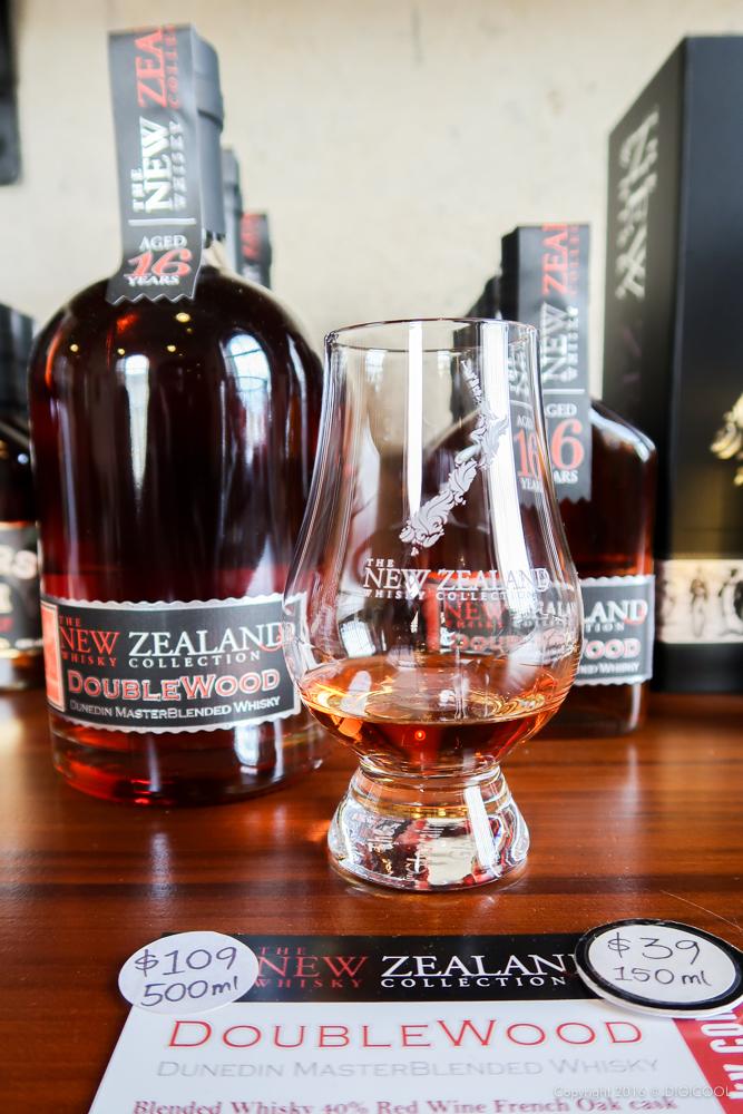 ニュージーランドのウイスキーを試飲