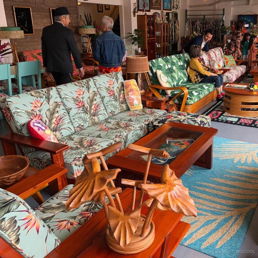 ハワイアン家具 マータク