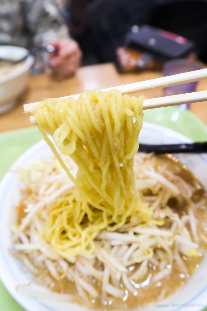 シンプルな中華麺