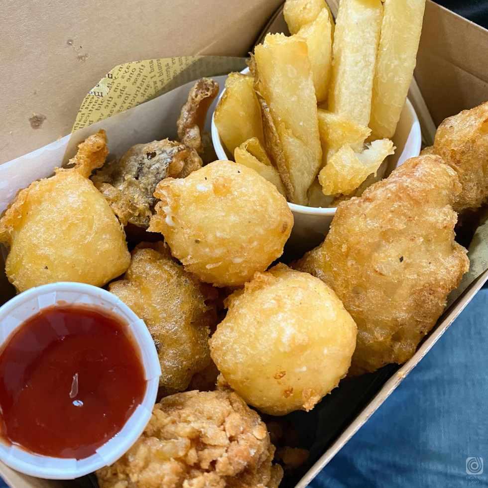 fish & chips まるたま