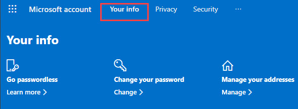 your_info_microsoft_home_page