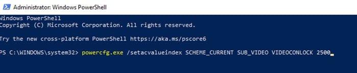 change_Windows_10_lock_screen_timeout_powershell