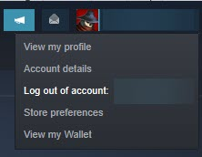 Log_out_of_steam_account