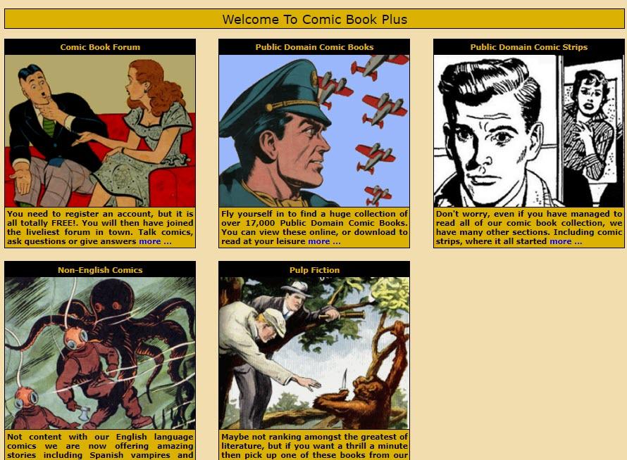 ComicbookPlus_free_website_for_reading_comic_books