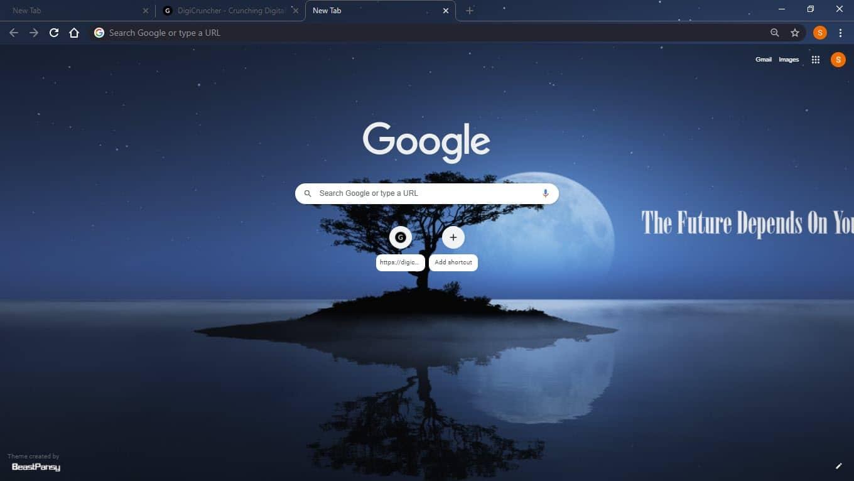 Moonlit_reflection_top_google_chrome_theme