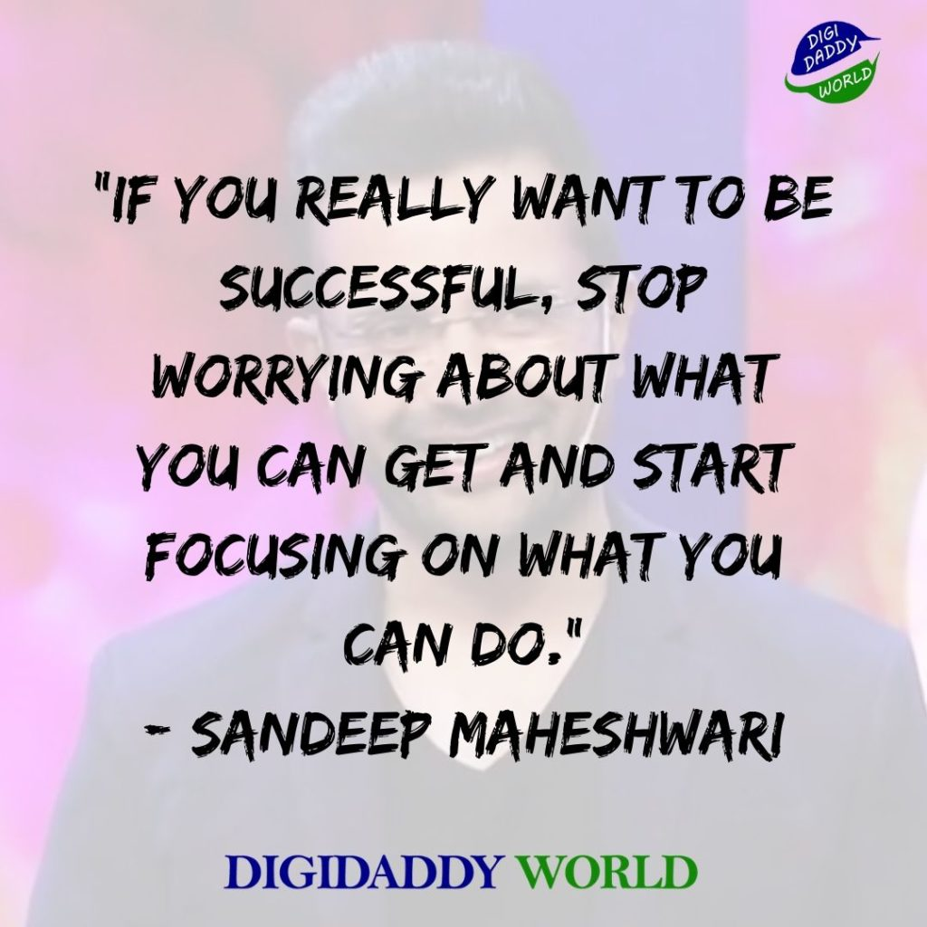 Sandeep Maheshwari Quotes with Images
