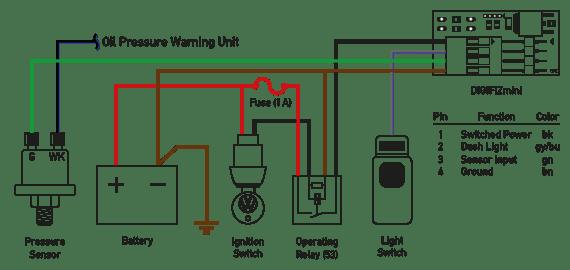 Vdo Oil Pressure Wiring Diagrams - Info Wiring •