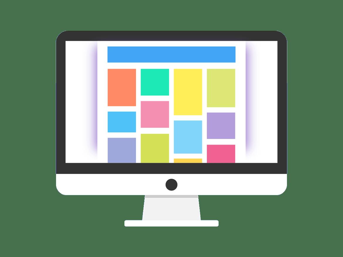 Custom website wireframe and ux design