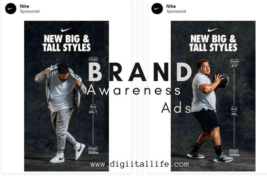 nike brand awareness ads