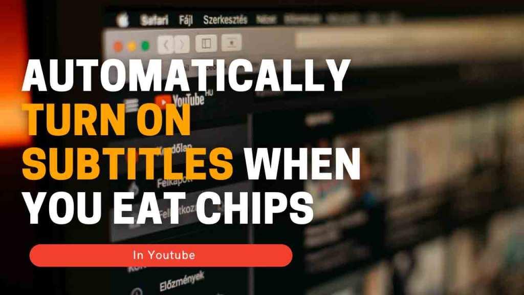 Automatically-turn-on-subtitle