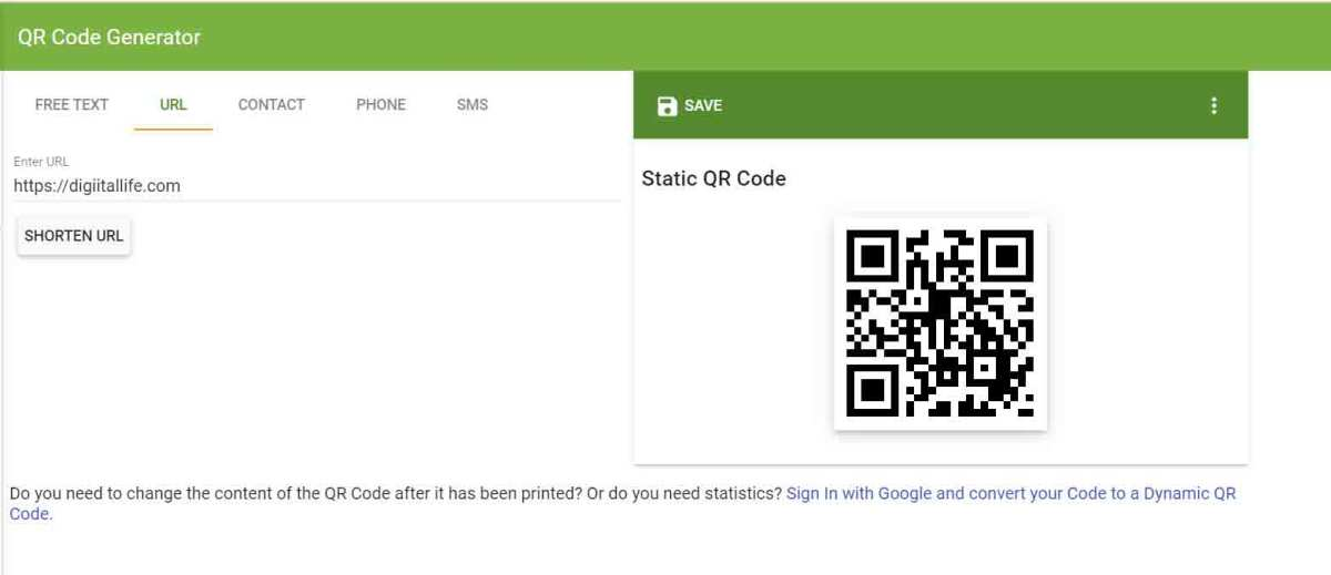 How-to-convert-the-link-to-a-barcode
